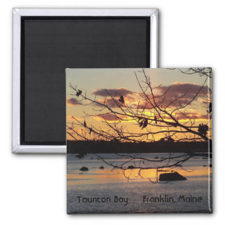 Sun Sets on Taunton Bay Magnet