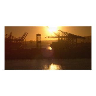 Sun setting on Industry Customized Photo Card