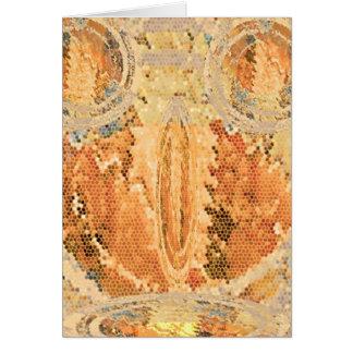 Sun Shine Golden Flames Greeting Card