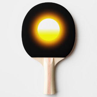 Sun Shine Image Ping Pong Paddle