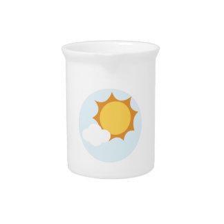 Sun Shine Beverage Pitchers