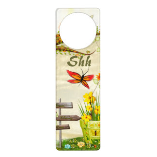 Sun Shiney Day Whimsical Nature Door Hanger