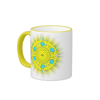 Sun Shining Ringer Mug