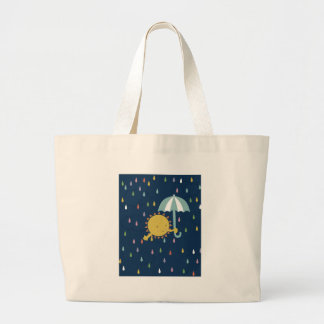 Sun Shower Large Tote Bag