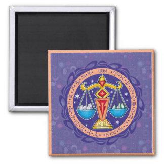 Sun Sign Libra Magnet