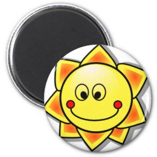 Sun Smiley, Happy Sun Magnet