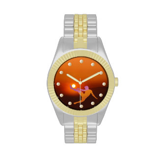 Sun Soccer Wrist Watch