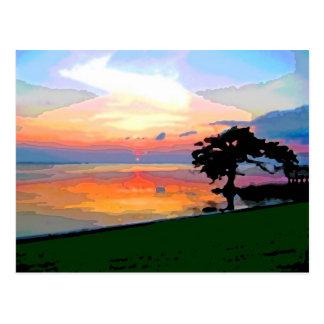 Sun Spill Postcard