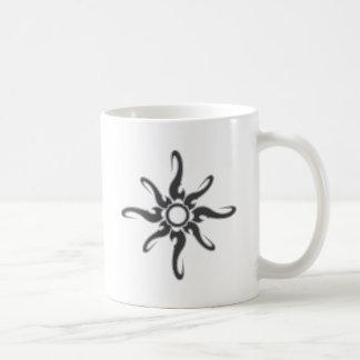 Sun Spot Tribal Glyph Symbol Basic White Mug