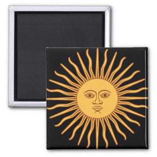Sun Square Magnet