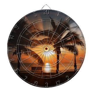 Sun Sunset Sunrise Dartboard