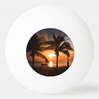 Sun Sunset Sunrise Ping Pong Ball