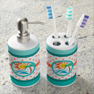 Sun & Surf Bathroom Set