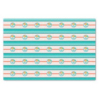 Sun & Surf (Orange Dots) Tissue Paper