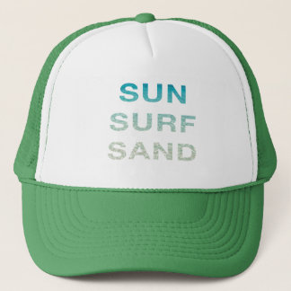 SUN SURF SAND TRUCKER HAT