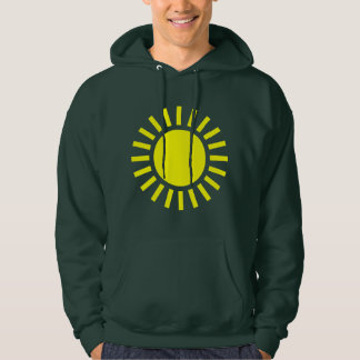 Sun Symbol Hooded Pullovers