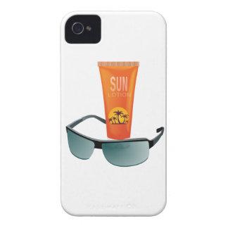 Sun Tan Lotion iPhone 4 Cover