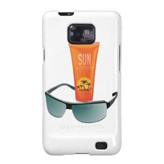 Sun Tan Lotion Galaxy S2 Covers