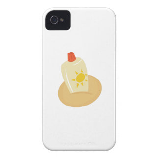 Sun Tan Lotion iPhone 4 Cover