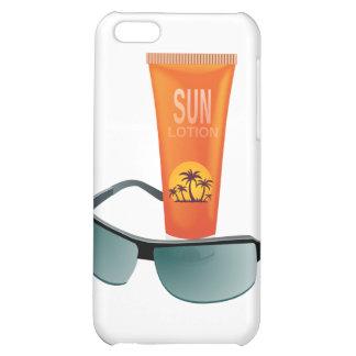 Sun Tan Lotion iPhone 5C Covers
