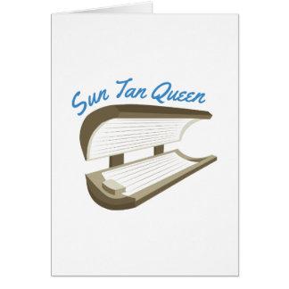 Sun Tan Queen Card