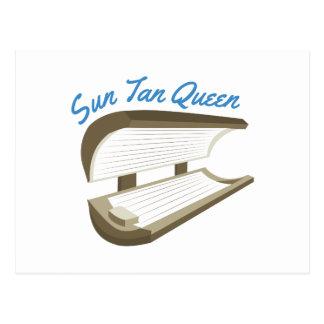 Sun Tan Queen Postcard