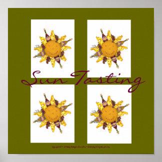 Sun Tasting - Poster