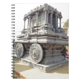 SUN temples of India miniature stone craft statue Note Books