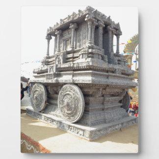 SUN temples of India miniature stone craft statue Photo Plaque