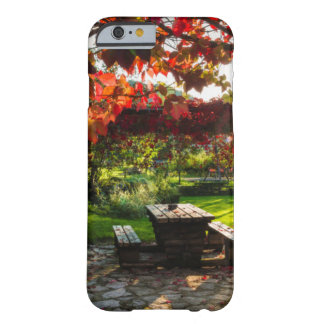 Sun through autumn leaves, Croatia Barely There iPhone 6 Case