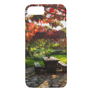 Sun through autumn leaves, Croatia iPhone 8/7 Case