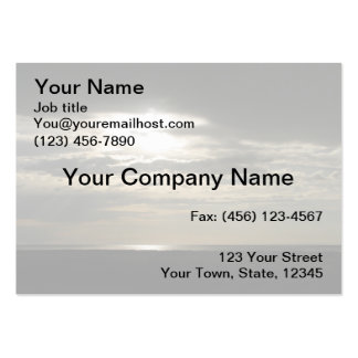 Sun Through Clouds on Antelope Island Pack Of Chubby Business Cards