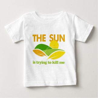 Sun Trying To Kill Me Baby T-Shirt