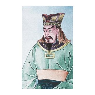 Sun Tzu Stretched Canvas Print