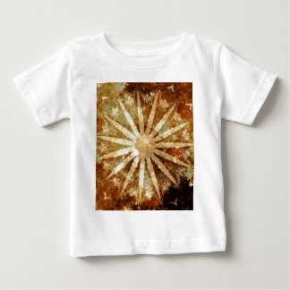 Sun Universe Cosmic Warm Golden Brown Colors Baby T-Shirt