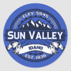 Sun Valley Colour Logo Sticker