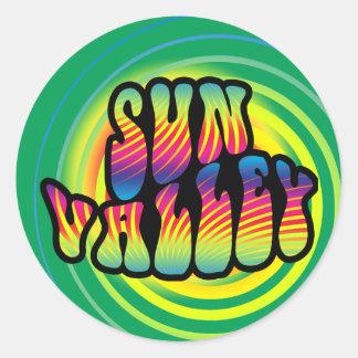 Sun Valley Hippy Trippy Sticker