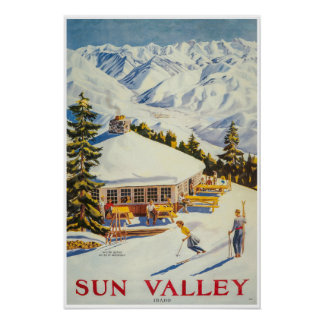Sun Valley, Idaho, Ski Poster