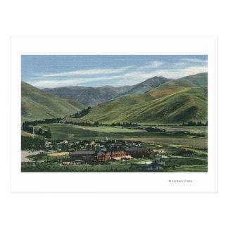 Sun Valley, IDSummer Scene of Sun Valley Lodge Postcard