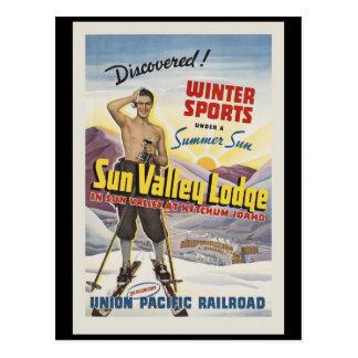 Sun Valley Lodge Idaho Postcard