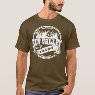 Sun Valley Old Circle White T-Shirt