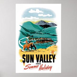 Sun Valley Summer Holiday Poster
