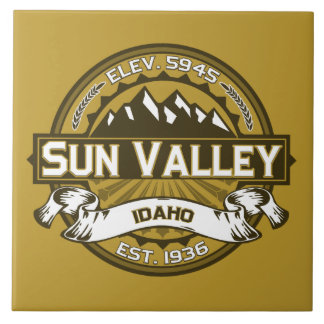 Sun Valley Tan Large Square Tile