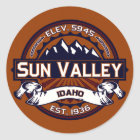 Sun Valley Vibrant Classic Round Sticker