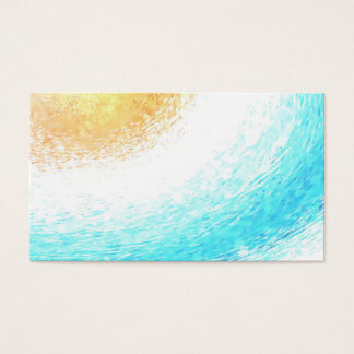 Sun Watercolor Psychic Yoga Reiki Business Cards