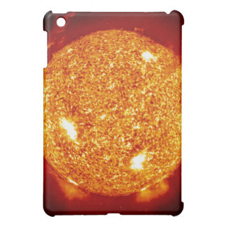 Sun with solar flares case for the iPad mini