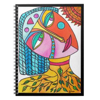 Sun Woman Notebook