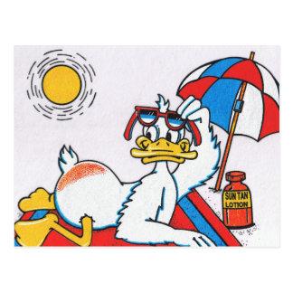 Sun Your Buns Vacation Humor Postcard