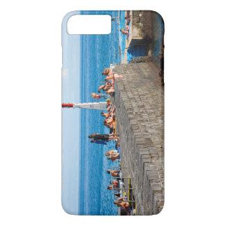 Sunbathing in Azores iPhone 7 Plus Case