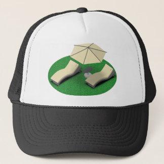 Sunbathing Trucker Hat
